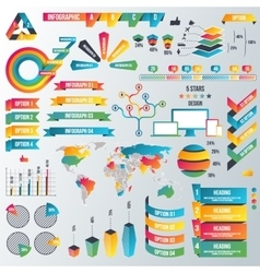 Infographic Elements Collection - Business vector image