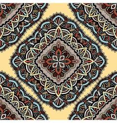 Seamless eastern pattern of mandalas vector image vector image