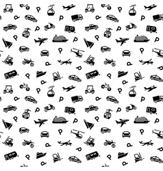 Seamless backdrop transport icons - 10eps vector image