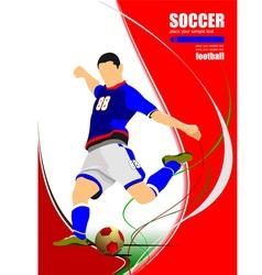 al 1001 soccer 01 vector image
