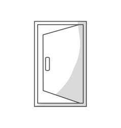 Open door icon vector
