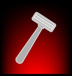 safety raz vector image