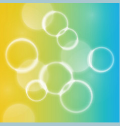 abstract colorful defocused lights bokeh vector image