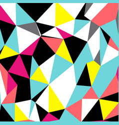 Abstract triangles geometrical pattern vector