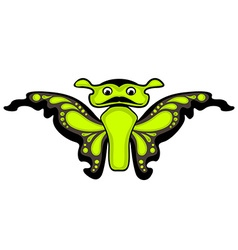 Cartoon butterfly Isolated vector