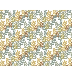Floral spring design composition vector image