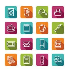 kitchen home appliances vector image