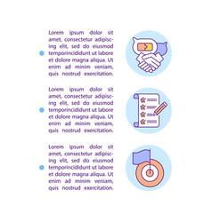 Take into account wishes consumer concept icon vector