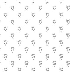 unique digital crane hook seamless pattern with vector image