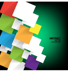 Abstract note background vector image