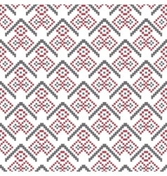 Christmas seamless pattern pixel vector