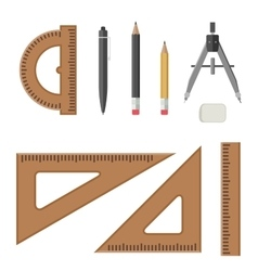 Architectural professional equipment vector image