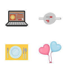 business technology restaurant and other web vector image