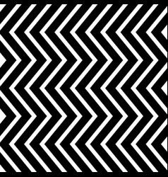 Seamless abstract monochrome pattern with wavy vector
