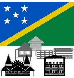 Solomon islands vector