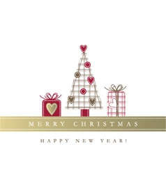 New year card vector image vector image