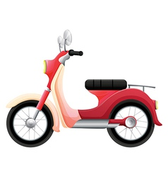 A scooter vector image