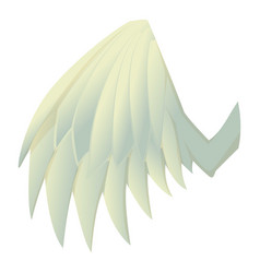 beautiful wing icon cartoon style vector image