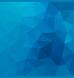 blue shiny triangle background design vector image