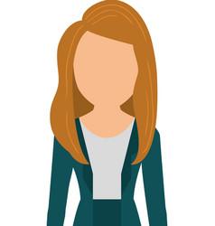 Business executive woman vector
