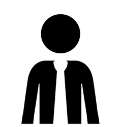 businessman pictogram icon image vector image