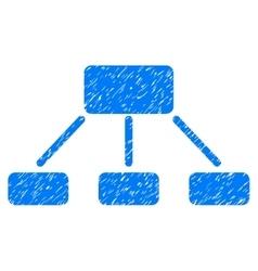 Hierarchy Grainy Texture Icon vector