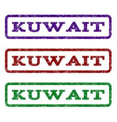 Kuwait watermark stamp vector
