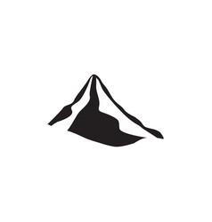 Mountain icon design template isolated vector