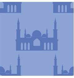 taj mahal seamless background landmark turkey vector image