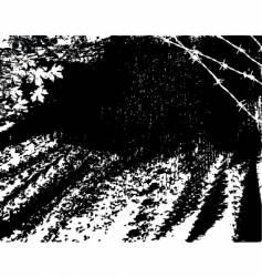 rough road vector image