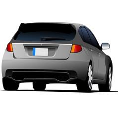 al 0206 car vector image
