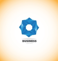 Business corporate geometric logo vector