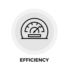 Efficiency Line Icon vector