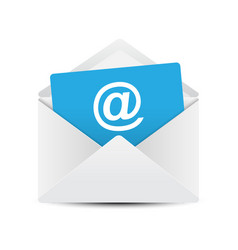 email envelope concept vector image