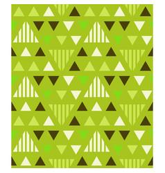 Irregular triangles seamless pattern vector