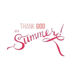 summer design poster vector image