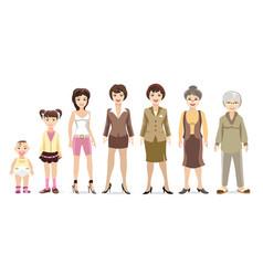 Woman generations vector