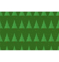 Flat seamless pattern with trees Abstract texture vector image vector image