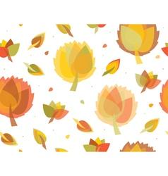 fall vector image