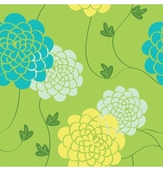 Flowers seamless pattern Bright colors elements vector image
