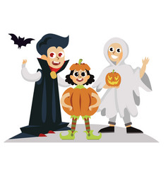 all hallows eve day horror party poster vector image