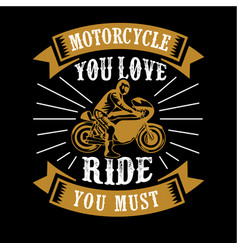 biker quote and saying 100 best for graphic in vector image