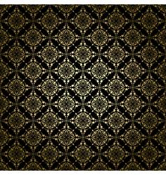 black vintage pattern with radial gradient vector image