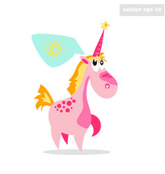 dream like a unicorn vector image