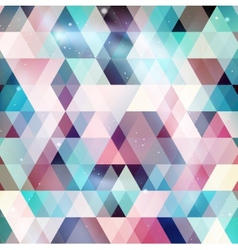 Geometry galaxy background vector image