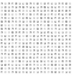 gray right triangle pattern seamless background vector image