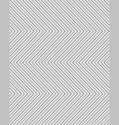 gray seamless zigzag pattern vector image