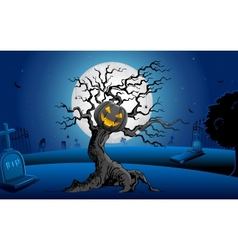 Haunted Tree vector