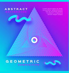 Minimal geometric background dynamic shapes vector