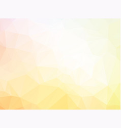 Pale yellow abstract background vector